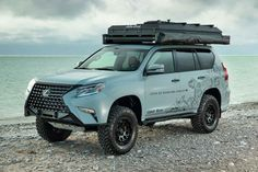 The Lexus GXOR overlanding concept SUV wowed us last year when we first saw it. Now, Lexus has made an improved GX Overland for Quito, Lexus Gx 460, Off Roaders, Toyota Land Cruiser Prado, All Terrain Tyres, Luxury Suv, Custom Wheels, Creature Comforts, Car Engine