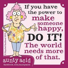 If u want power to make