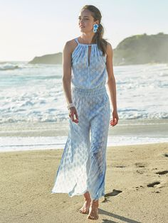 Suit up for summer. Our favorite collection of swimsuits to pack for paradise. Shop one-pieces, bikinis, rash guards and cover ups in our Swim Shop. Classy Outfits, Chic Outfits, Summer Outfits, Silk Jumpsuit, Cotton Silk, Size Model, One Piece, Clothes For Women, Dresses