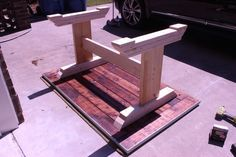 Step-by-step DIY plans showing you exactly how to build a Monastery Dining Table. No woodworking experience required, Woodworking Tools For Sale, Woodworking Books, Woodworking Videos, Rustic Kitchen Tables, Diy Dining Table, Dining Room, Diy Furniture Building, Diy Kitchen Cabinets, Table Plans