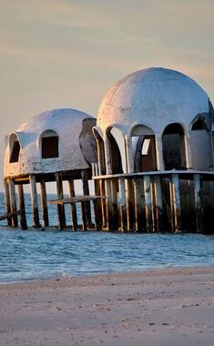 The Domes of Cape Romano | Travel | Vacation Ideas | Road Trip | Places to Visit | Marco Island | FL | Photo Op | Folk Art | Architectural Site | Abandoned Place | Offbeat Attraction | Roadside Attraction