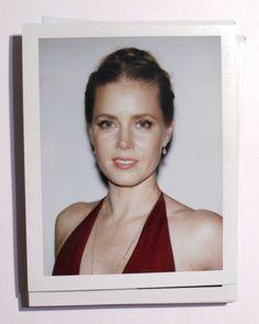 Amy Adams   Golden Globes Backstage Polaroids by Lucas Michael