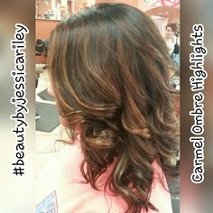 Carmel Ombre Highlights #beautybyjessicariley