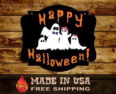Halloween Ghosts, Halloween Crafts, Bridal Shower, Baby Shower, Wood Cutouts, Nursery Signs, Custom Wood, Handmade Shop, Mom And Dad