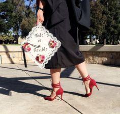 Graduation cap #latina #todoesposible #calstatestanislaus #gradpics