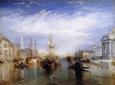 Joseph Turner - The Grand Canal, Venice (see more at http://makeyourideasart.com)