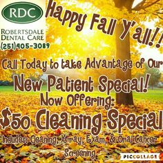 Don't forget to take advantage of our great Special we have going right now. It is available for a limited time. Call (251)405-3089 Today  - http://ift.tt/1HQJd81