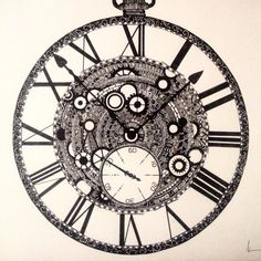 TIME. by BethanyWarrenArt on Etsy