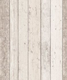 A richly detailed Scandinavian panelled wood effect design – with the look of distressed and faded wood shown in natural wood coloring. http://www.wowwallpaperhanging.com.au/wood-wallpaper-sophie-and-dales-scrapwood-wallpaper-from-the-block/