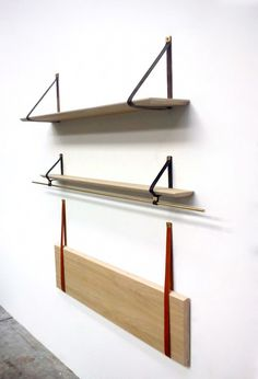 Dowel-Supported Organizers : Pegboard Storage System