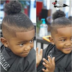 Chic Recommendation On Your Hair Plus Black Baby Boy Hairstyles Also African American Boy Haircuts Little Black Boy Haircuts, Black Boy Hairstyles, Boys Curly Haircuts, Boy Braids Hairstyles, Black Baby Boys, Toddler Boy Haircuts, Little Black Boys, Tail Hairstyle, Lil Boy
