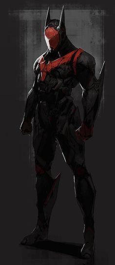 batman redesign by tyler ryand'artiste: Character Design