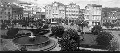 Praza da Ferrería. Pontevedra
