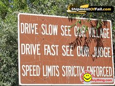 Found this on pintrest. This is from the town where my parents live, Corrales, New Mexico. Seriously, two miles over the speed limit, you get ticketed. Funny to see it in here!