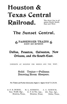 ads from 1901 census and directory for Abilene, TX