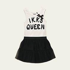 two fabric ikks queen dress
