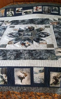 17 Best Ideas for batik quilting patterns awesome Big Block Quilts, Boy Quilts, Quilt Blocks, Mens Quilts, Fabric Panel Quilts, Fabric Panels, Perler Beads, Wildlife Quilts, Photo Quilts