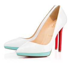 Christian Louboutin Hong Kong SAR China Official Online Boutique - PIGALLE PLATO 120 Black Patent available online. Discover more Women Shoes by Christian Louboutin White Platform Shoes, Red High Heel Shoes, High Heels Outfit, White Shoes, Christian Louboutin Outlet, Louboutin Shoes, Red Bottom Shoes, Spring Shoes, Shoes