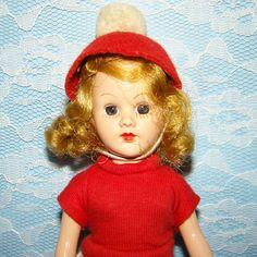 C1952 Sandra Sue Doll Richwood Toy Co Blond Original Clothing 8 Inch HP by AmericanBeautyDolls on Etsy