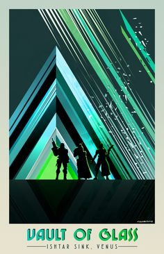 Destiny Vault of Glass Poster - Bungie Day Contest Submission
