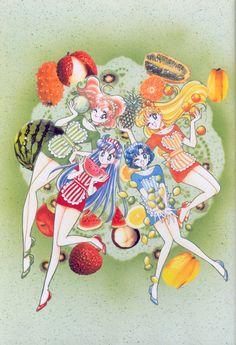 美少女戦士セーラームーン原画集 Bishoujo Senshi Sailor Moon Original Picture Collection Vol.4 - by Naoko Takeuchi - 1995 Nakayosi July supplement