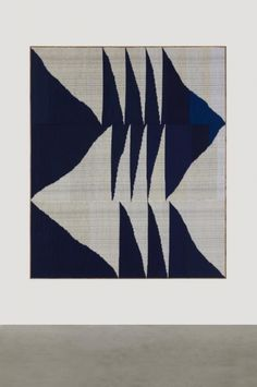 Brent Wadden | TBT | wool + cotton + acrylic on canvas | 257.4 cm X 218 cm | Vancouver, Canada | 2014