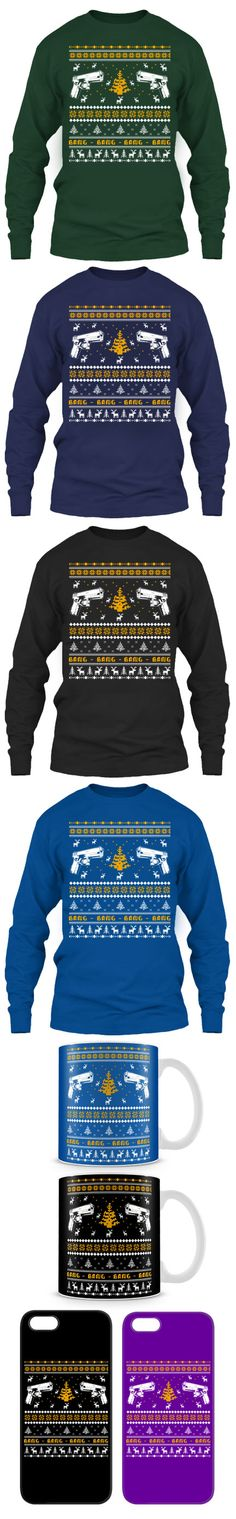 Glock Ugly Christmas Sweater! Click The Image To Buy It Now or Tag Someone You Want To Buy This For.