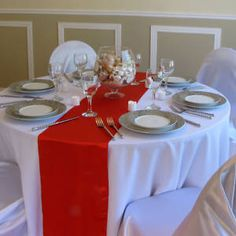 ~New~ Satin Table Runner Wedding Party Banquet Decoration Colors! in Home & Garden, Wedding Supplies, Venue Decorations Table Rose, Pink Table, Black Table, Blue Tables, White Tables, Round Tables, Navy Blue Table Runner, Blue Wedding Decorations, Banquet Decorations