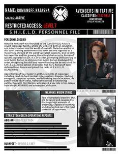 S.H.I.E.L.D. profile: Natasha Romanoff