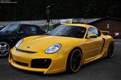 Porsche Cayman Techart GT Widebody.