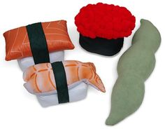Sushi Pillows - Sushi Pillows from ThinkGeek