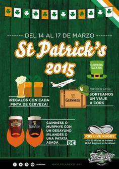 St. Patricks Day. Flahertys Zaragoza.