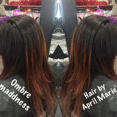 #ombre #funhair #hothair  #hairbyaprilmarie call and book 440-449-4848