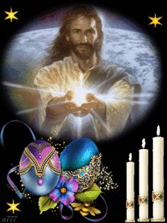 He Has Risen Light Blue Roses, Just Magic, Jesus Christ Images, He Has Risen, Jesus Is Coming, Jesus Pictures, Pretty Cool, Flower Art, Flowers