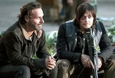Andrew Lincoln (Rick Grimes) Norman Reedus (Daryl Dixon)