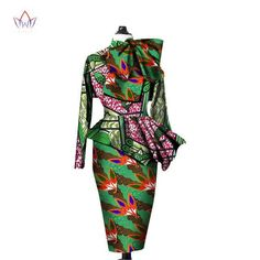 African Clothes,Ankara Crops Tops and Sleeve Two Piece Set – Owame African American Fashion, African Print Fashion, Africa Fashion, African Fashion Dresses, African Clothes, Fashion Outfits, African Outfits, Fashion Ideas, Ethnic Clothes