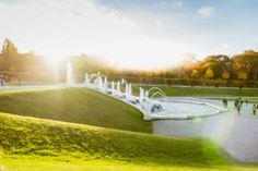 "Saatchi Art Artist Nouar Bellil; Photography, ""Fountain@Belvedere // Austrian Landscape"" #art Landscape Photographers, Fountain, Saatchi Art, Golf Courses, Digital, Outdoor Decor, Photography, Photograph, Fotografie"