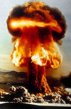 scientists worked on a secret program called the Manhattan Project, which led to the invention of the atomic bomb. Bomba Nuclear, Nuclear Test, Nuclear Bomb, Atomic Bomb Explosion, Nuclear Engineering, Mushroom Cloud, Manhattan Project, Destroyer Of Worlds, Jesus Is Coming