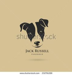 jack russell illustration vector - Google Search