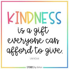 Kindness Books for Kids - Kindness is a gift everyone can afford to give. Here are some of my favorite kindness books for kid - Motivational Quotes For Kids, Inspirational Quotes For Students, Work Quotes, Daily Quotes, Wisdom Quotes, Quotes To Live By, Good Quotes For Kids, Sayings For Kids, Quotes For School