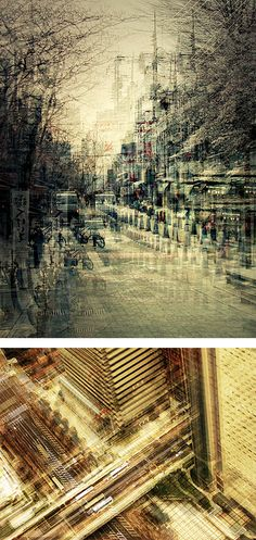 Multiple Exposure Photos of Japan by Stephanie Jung - Inspiration Grid Multiple Exposure Photography, Urban Photography, Abstract Photography, Artistic Photography, Street Photography, Experimental Photography, Web Design, Grid Design, Design Art