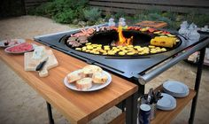 Garry Grill Grilling, Bbq, Outdoor Decor, Home Decor, Style, Barbecue, Swag, Decoration Home, Barrel Smoker
