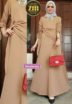 Hijab Dress Party, Walima Dress, Stylish Dresses For Girls, Modest Dresses, Abaya Fashion, Fashion Dresses, Moslem Fashion, Dress Anak, Abaya Designs