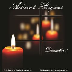 Advent begins December 1!