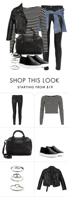"""Untitled #16481"" by florencia95 ❤ liked on Polyvore featuring BLK DNM, River Island, Alexander Wang, rag & bone, Tressa and Nasty Gal"