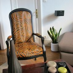 fauteuil voltaire panth re fauteuils pinterest. Black Bedroom Furniture Sets. Home Design Ideas