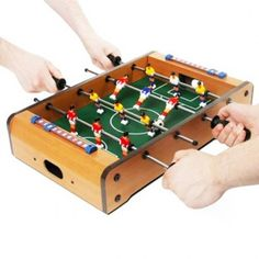 All the fun of table football, without it taking over the house Table Football, Gifts For Football Fans, Secret Santa, Football Fever, Joke Gifts, Baby Foot, Poker Table, Decoration, Special Gifts
