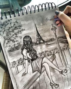 Algún Día espero dibujar de esta manera.  -¡Asombroso!