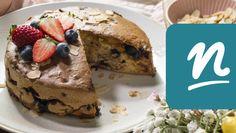 Mandulás gyümölcsös kevert süti forrólevegős sütőben készítve | Nosalty Gluten, Menu, Blog, Menu Board Design, Blogging