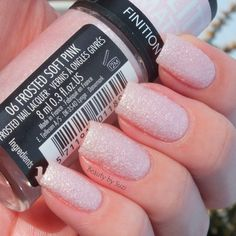 GOSH Frosted Nail Lacquer, 06 Frosted Soft Pink